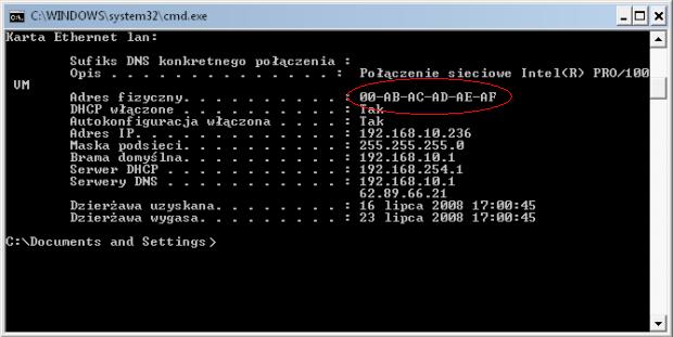 Odp: Brak internetu - Realtek 8201
